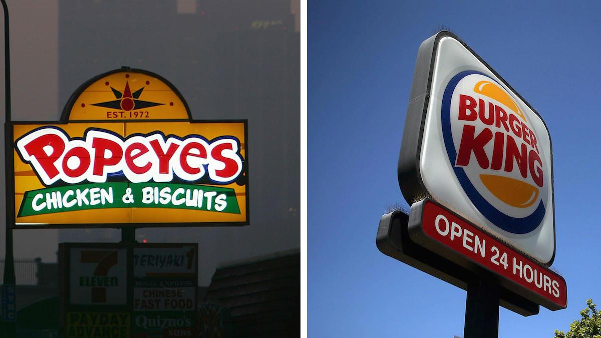 Burger King owner to buy Popeyes for 1.8 Billion dollars..