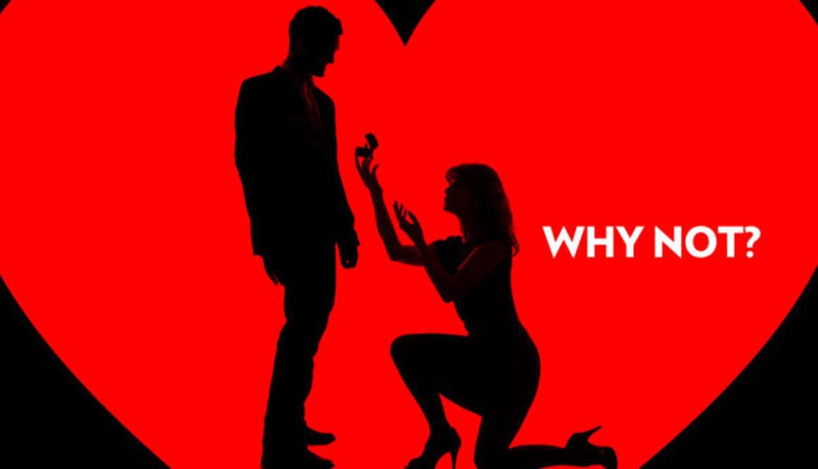 Woman proposes to man?