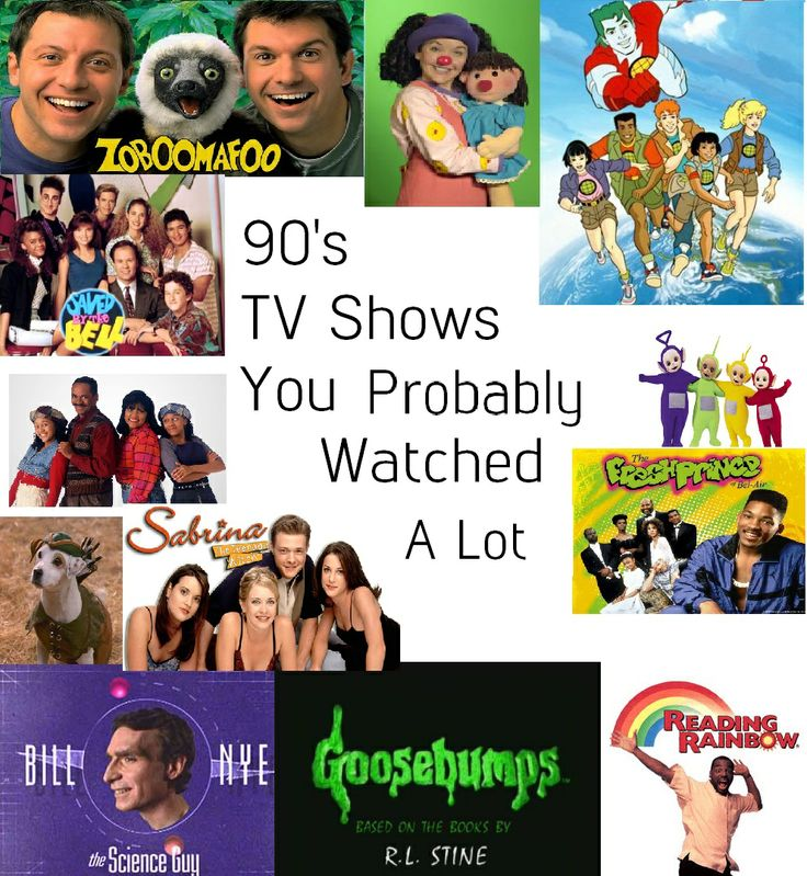 My top favorite 90's shows